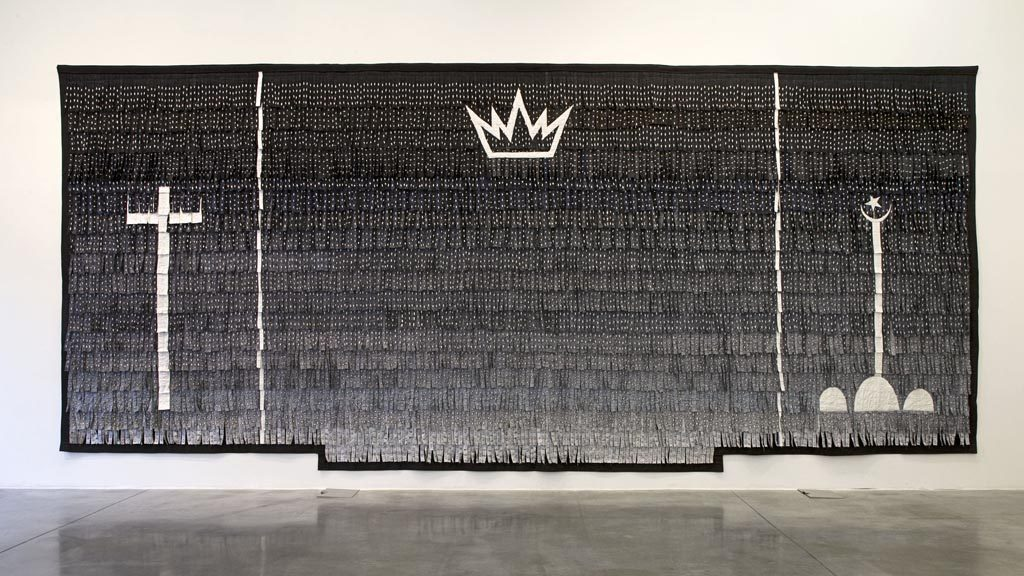 Power + Religion<br>Abdoulaye Konate<br>Painting<br><br>2011<br>